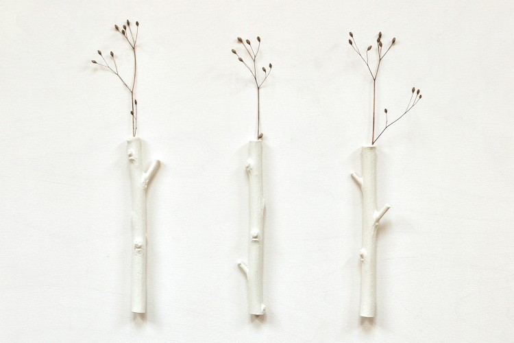 Zweig Wandvasen (3 Stück)