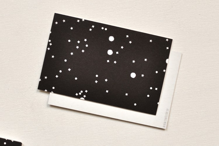 Gift tags: STARRY SKY
