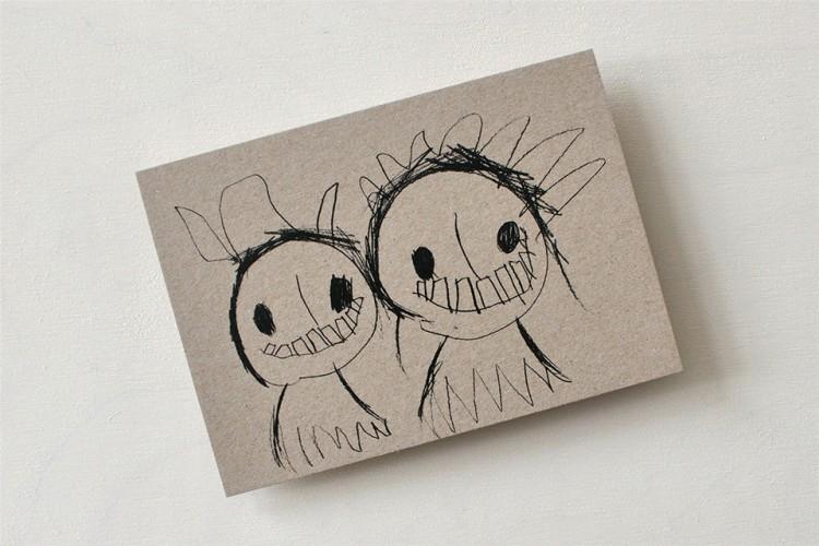 Postcard: TWINS
