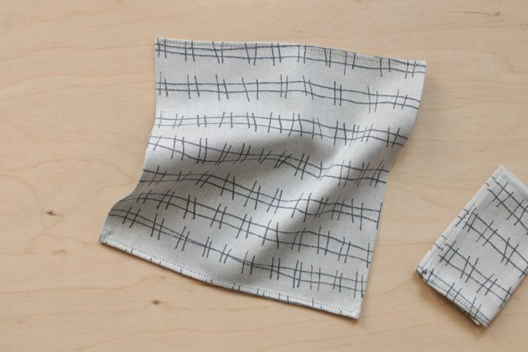 Handkerchief: RAILS, blue