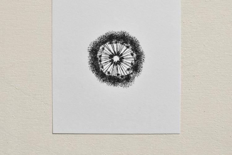 B-STOCK Rubber stamp: Dandelion clock