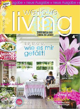 WE LOVE LIVING Ausgabe 04/2011