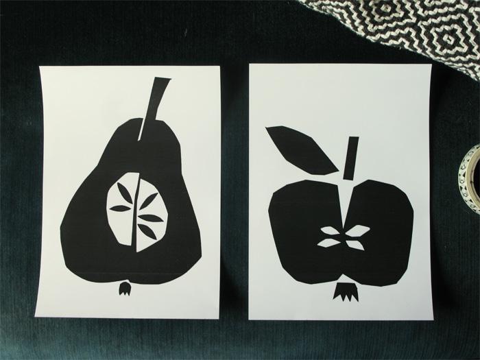 bastisRIKE: papercut fruits