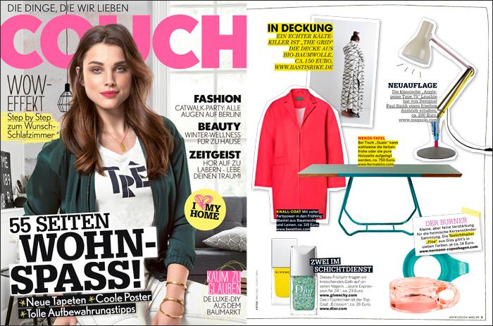 bastisRIKE PRESSE: COUCH Magazin 02/2015