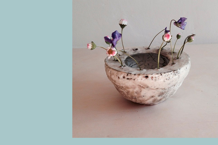 Ceramic works by Cécile Daladier