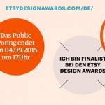 Etsy Design Awards: bastisRIKE ist Finalist!