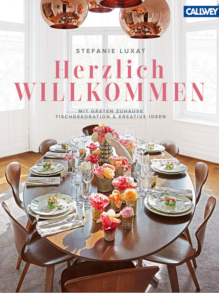 """bastisRIKE #thegridblanket in Steffi Luxats Buch """"Herzlich WILLKOMMEN"""""""