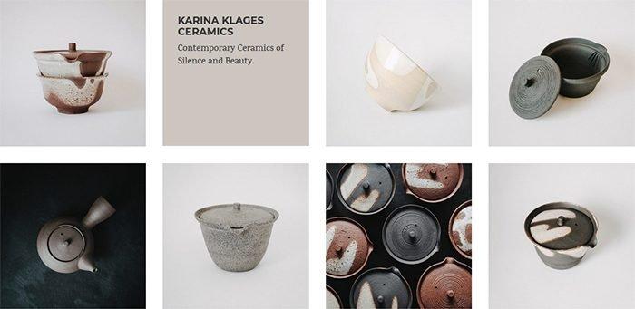 Karina Klages Ceramics  Contemporary Ceramics of Silence and Beauty.