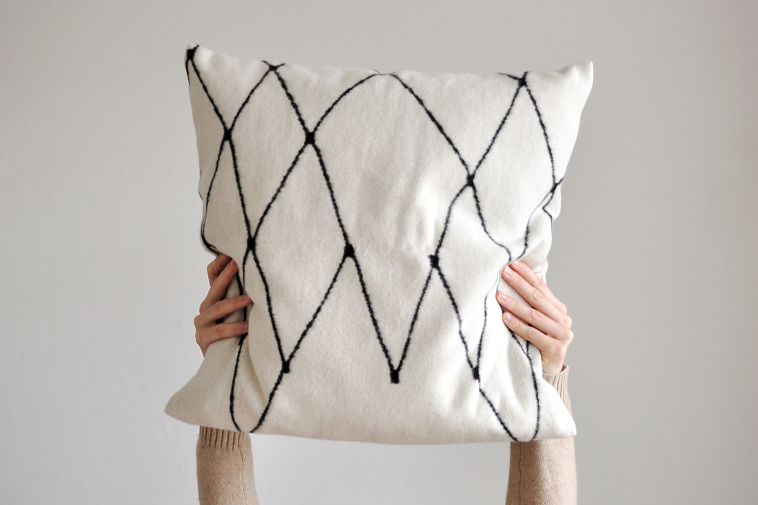 THE GRID cushion cover