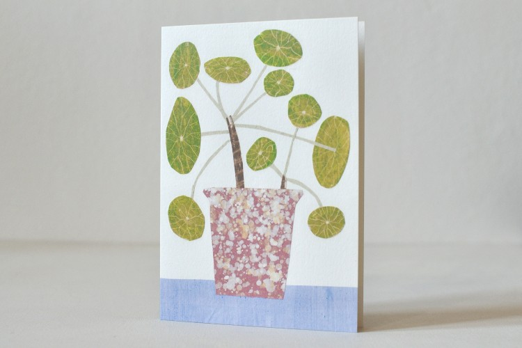 Folded card: BOBBLE PLANT
